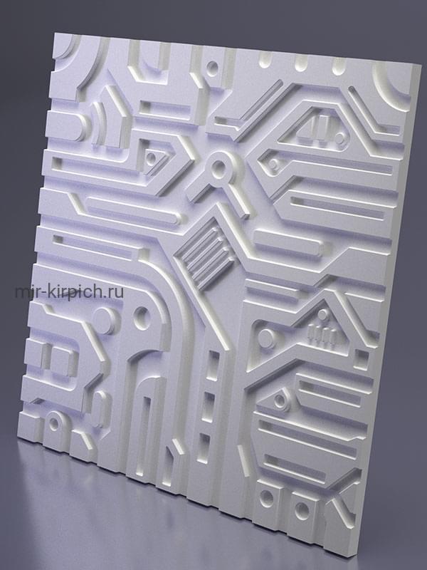 Гипсовая 3D панель Ex-Machina