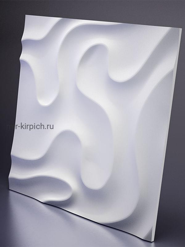 Гипсовая 3D панель Fog