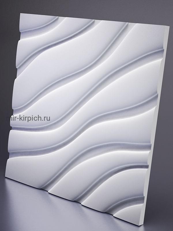 Гипсовая 3D панель Velvet