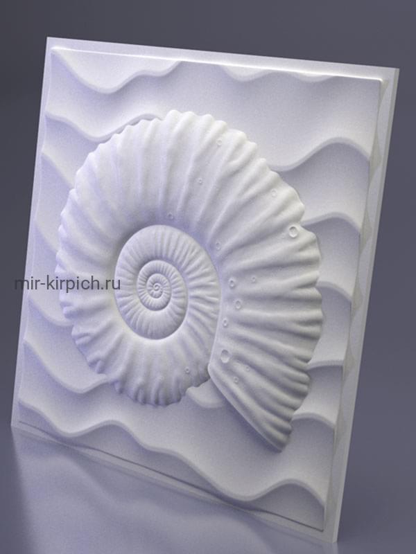 Гипсовая 3D панель Underwater