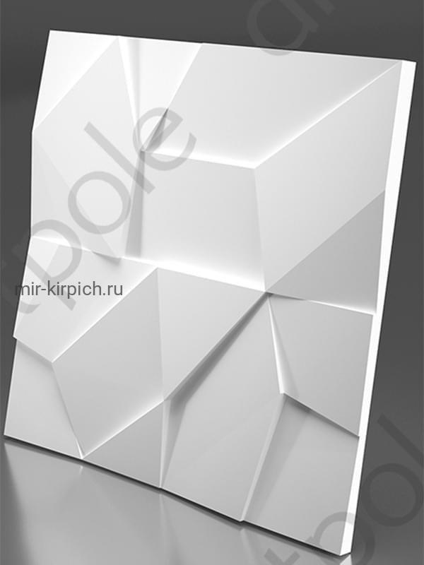 Гипсовая 3D панель Rock