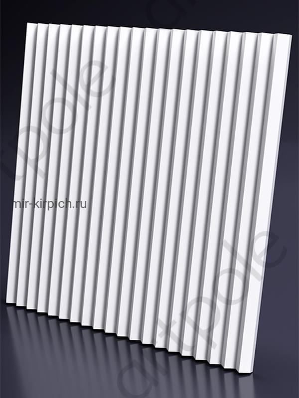 Гипсовая 3D панель Zigzag