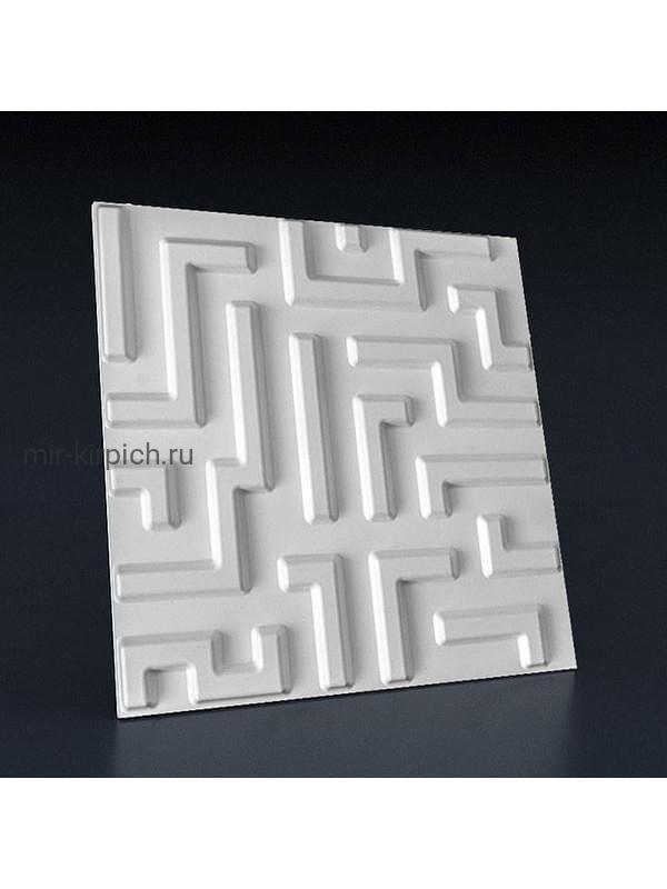 Гипсовая 3D панель Мейз