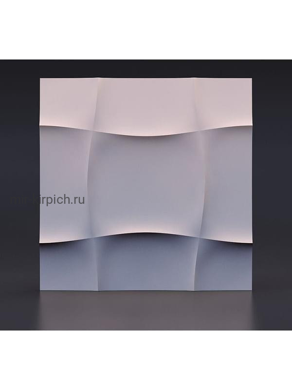 Гипсовая 3D панель Мягкий квадрат