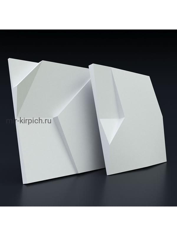 Гипсовая 3D панель Излом
