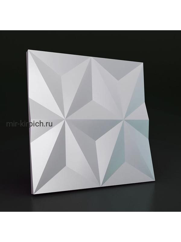 Гипсовая 3D панель Шестиконечная звезда