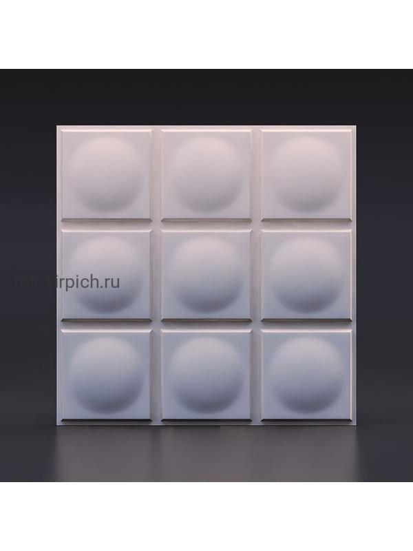 Гипсовая 3D панель Геометрия