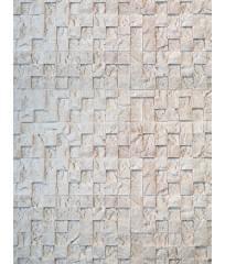 Гипсовая плитка 3D мозаика Латте