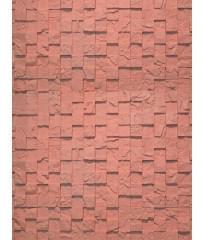 Гипсовая плитка 3D мозаика Красный