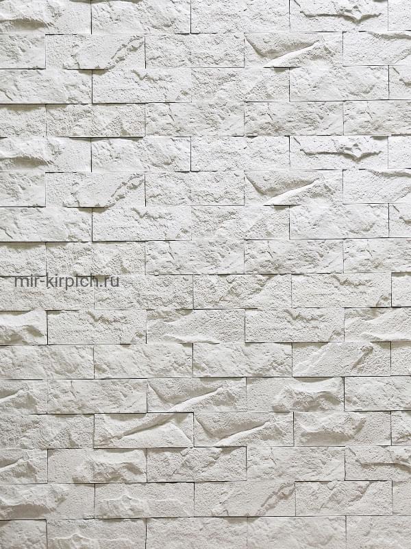 Декоративный камень Неаполь Белый
