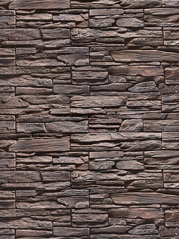 Декоративный камень Танвальд Бордовый