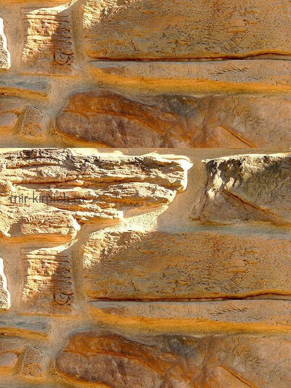 Декоративный камень Альпийская деревня 02