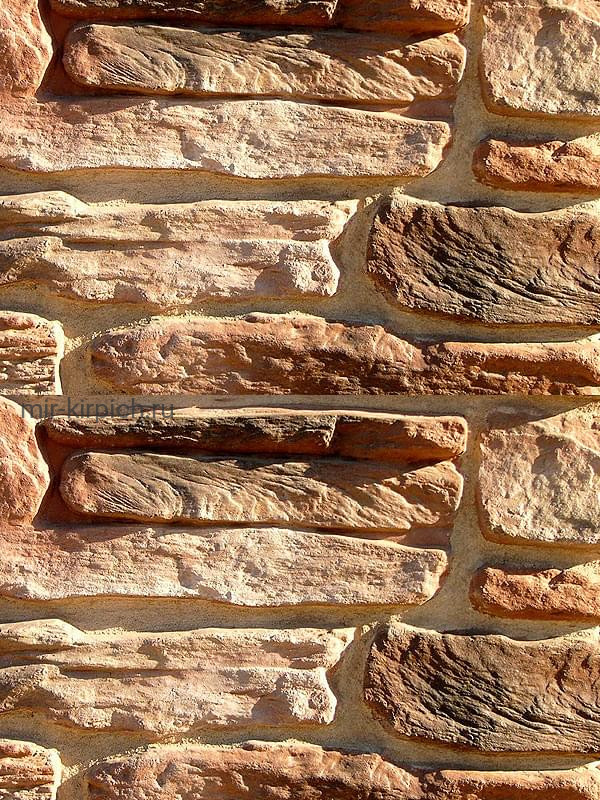 Декоративный камень Альпийская деревня 03