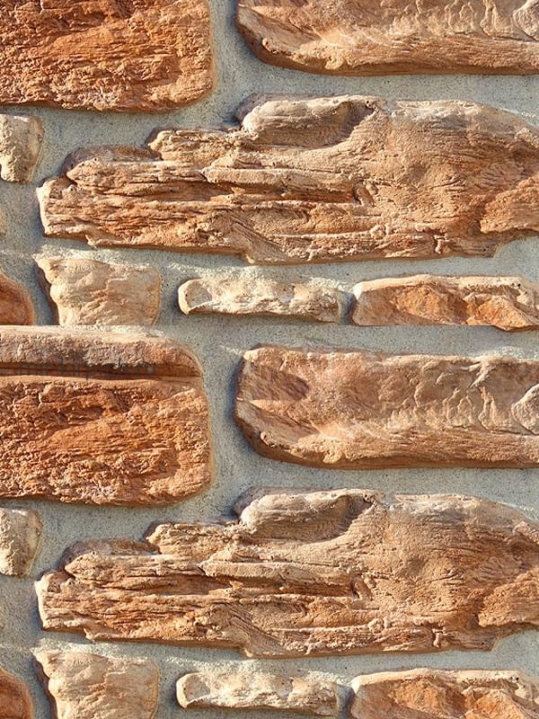 Декоративный камень Альпийская деревня 08