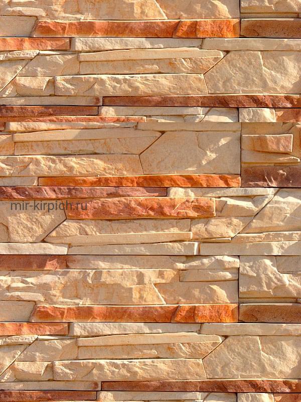 Декоративный камень Выветренный каньон 05