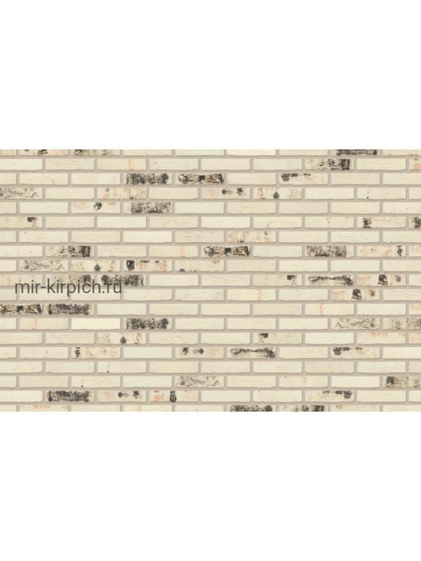 Плитка ручной формовки Nelissen RODRUZA WIT Sintered, 215*65*20 мм