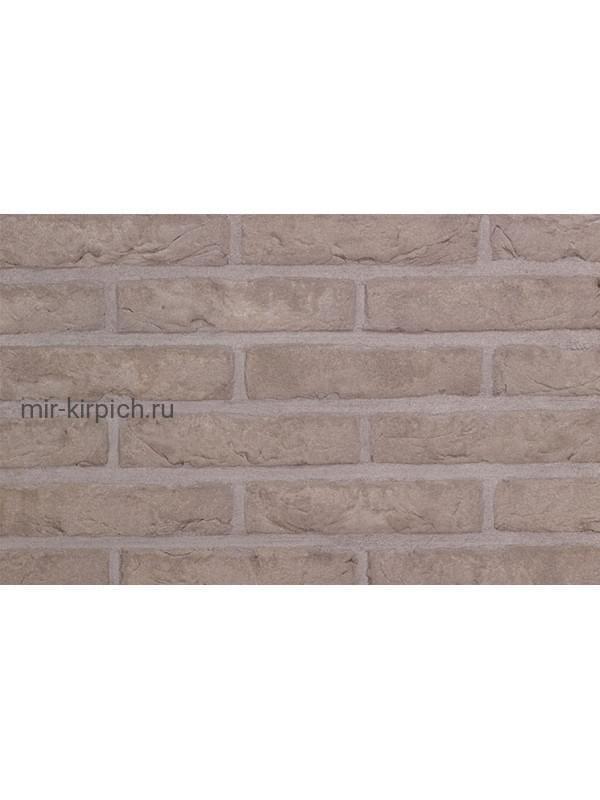 Плитка ручной формовки Terca Agora Agaat Grijs (65mm Forum Smoked Branco), 215*65*22 мм