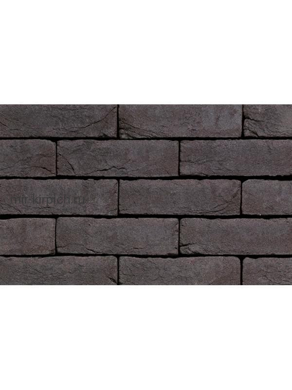 Плитка ручной формовки Terca Agora Grafietzwart (65mm Graphite Black), 210*65*22 мм