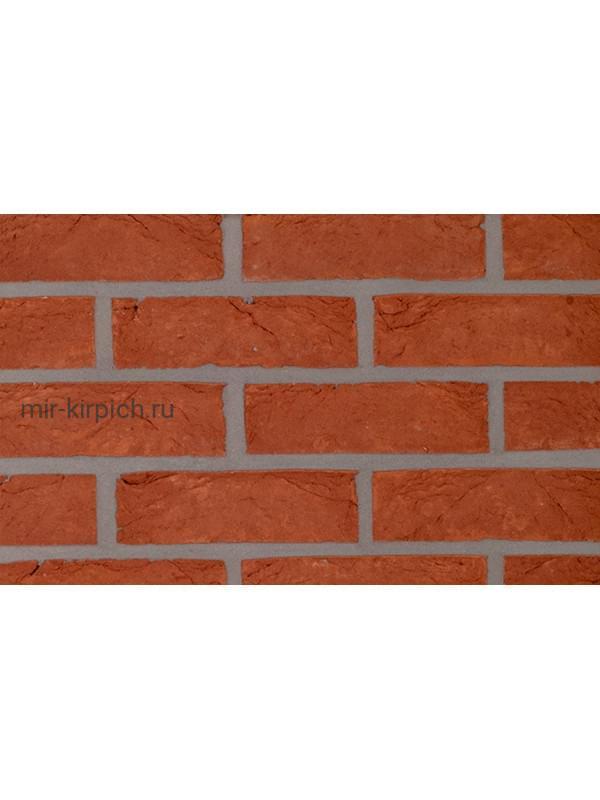 Плитка ручной формовки Terca Haywood Red (PAEPESTEEN), 214*64*22 мм