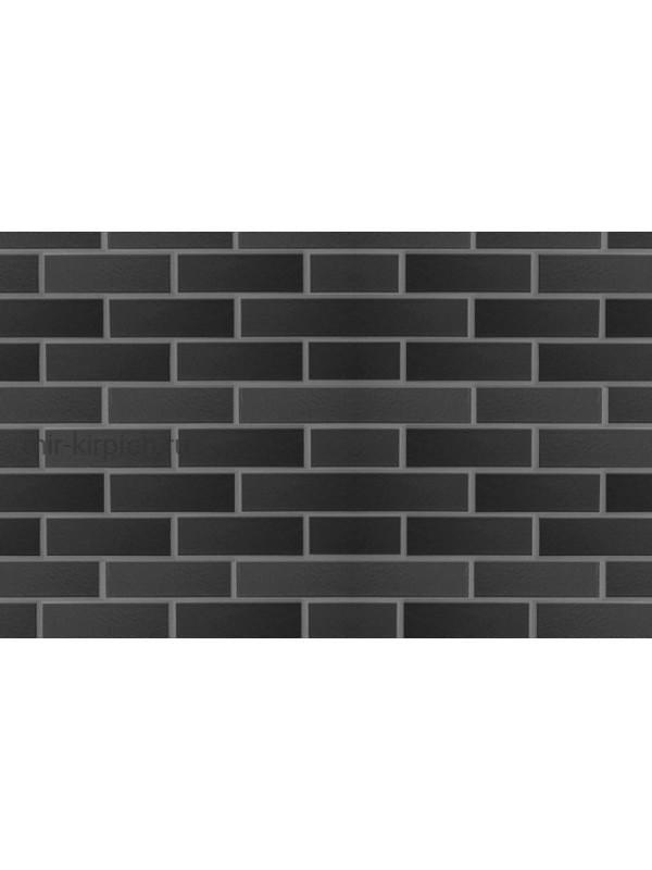 Клинкерная плитка ABC Schwarz matt гладкая NF10, 240*71*10 мм