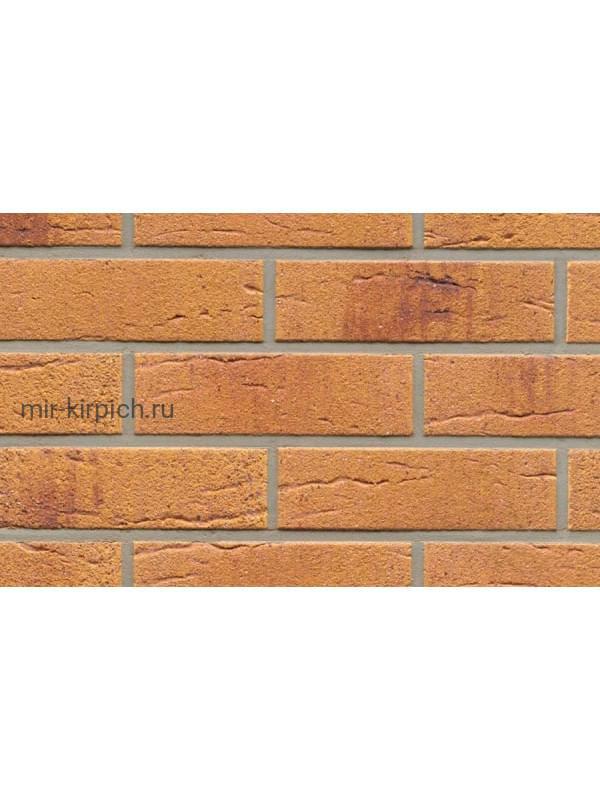 Клинкерная облицовочная плитка Feldhaus Klinker R287 amari viva rusticoi aubergine, 240*71*9 мм