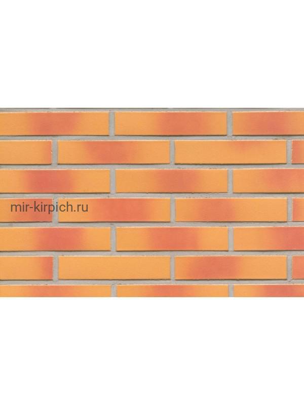 Клинкерная облицовочная плитка ручной формовки Feldhaus Klinker R208 amari viva liso, 240*71*14 мм