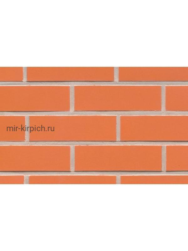 Клинкерная облицовочная плитка ручной формовки Feldhaus Klinker R220 terracotta liso, 240*71*14 мм