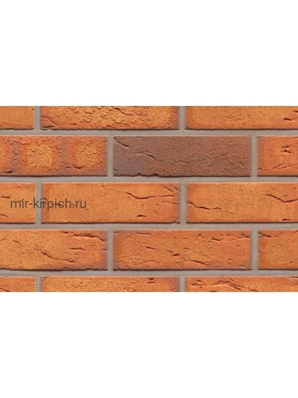 Клинкерная облицовочная плитка ручной формовки Feldhaus Klinker R268 nolani viva rustico, 240*71*14 мм