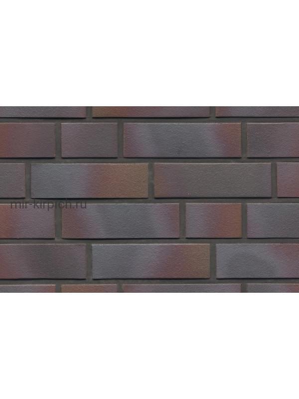 Клинкерная облицовочная плитка ручной формовки Feldhaus Klinker R386 cerasi maritim negro, 240*71*14 мм