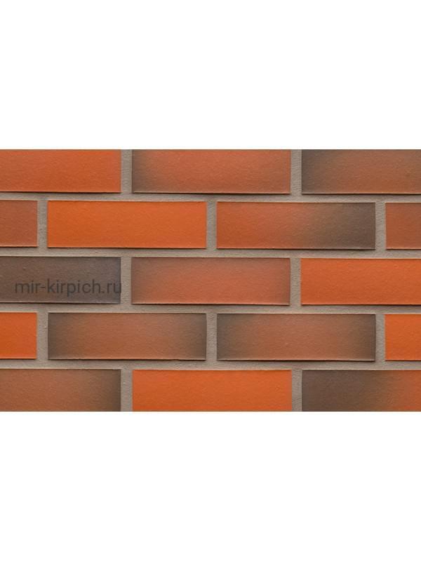 Клинкерная облицовочная плитка ручной формовки Feldhaus Klinker R483 galena terreno viva II, 240*71*14 мм