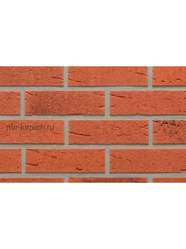 Клинкерная облицовочная плитка ручной формовки Feldhaus Klinker R488 terreno rustico carbo, 240*71*14 мм