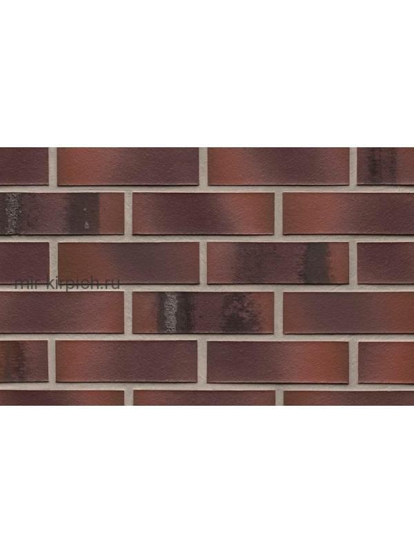 Клинкерная облицовочная плитка ручной формовки Feldhaus Klinker R561 carbona carmesi maritimo, 240*71*14 мм