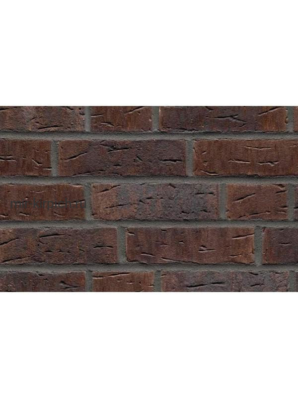 Клинкерная облицовочная плитка ручной формовки Feldhaus Klinker R669 sintra geo nelino, 240*71*11 мм