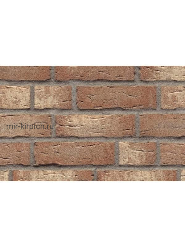 Клинкерная облицовочная плитка ручной формовки Feldhaus Klinker R677 sintra brizzo blanca, 215*65*14мм