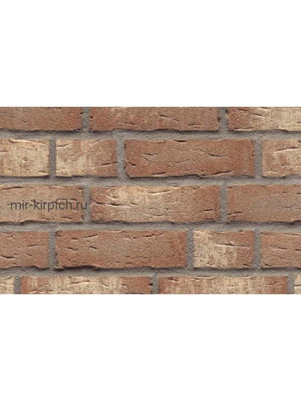 Клинкерная облицовочная плитка ручной формовки Feldhaus Klinker R677 sintra brizzo blanca, 240*71*14 мм