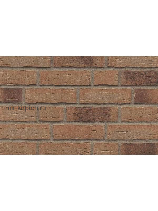Клинкерная облицовочная плитка ручной формовки Feldhaus Klinker R679 sintra geo, 240*71*14 мм