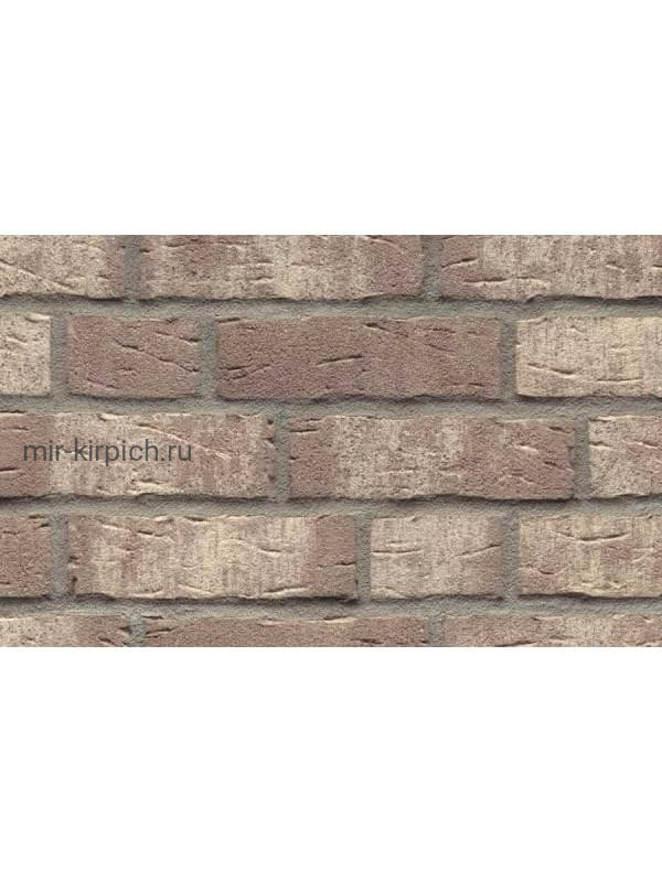 Клинкерная облицовочная плитка ручной формовки Feldhaus Klinker R682 sintra argo bianco, 240*71*14 мм