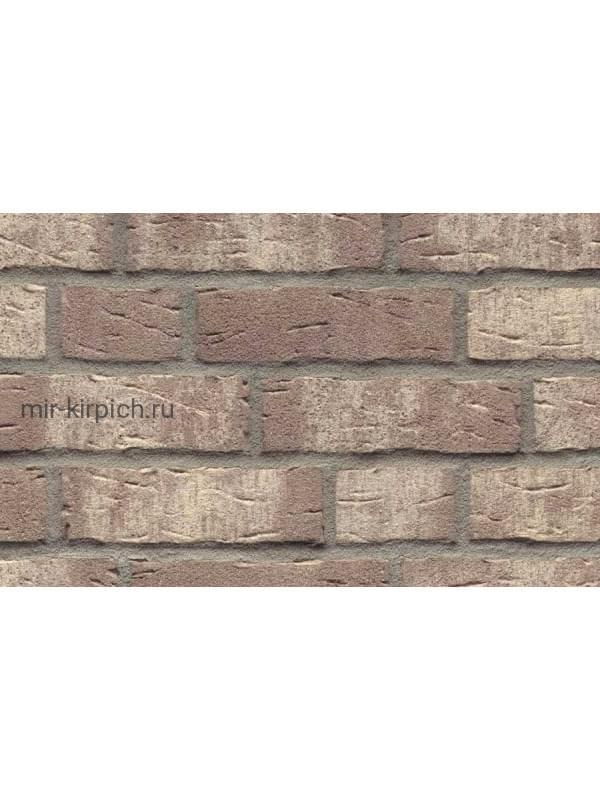 Клинкерная облицовочная плитка ручной формовки Feldhaus Klinker R682 sintra argo blanco, 215*65*14мм