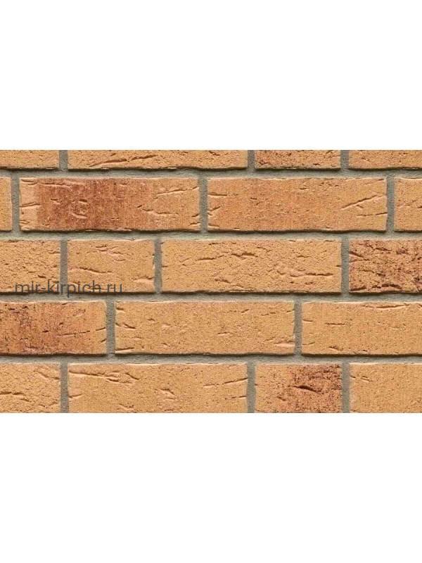Клинкерная облицовочная плитка ручной формовки Feldhaus Klinker R688 sintra sabioso, 215*65*14мм
