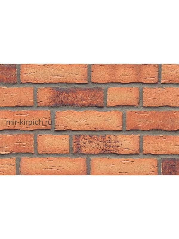 Клинкерная облицовочная плитка ручной формовки Feldhaus Klinker R695 sintra sabiosa ocasa, 215*65*14мм