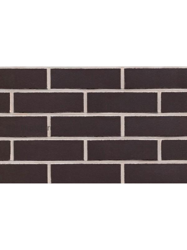 Клинкерная облицовочная плитка ручной формовки Feldhaus Klinker R700 anthracit liso, 240*71*14 мм