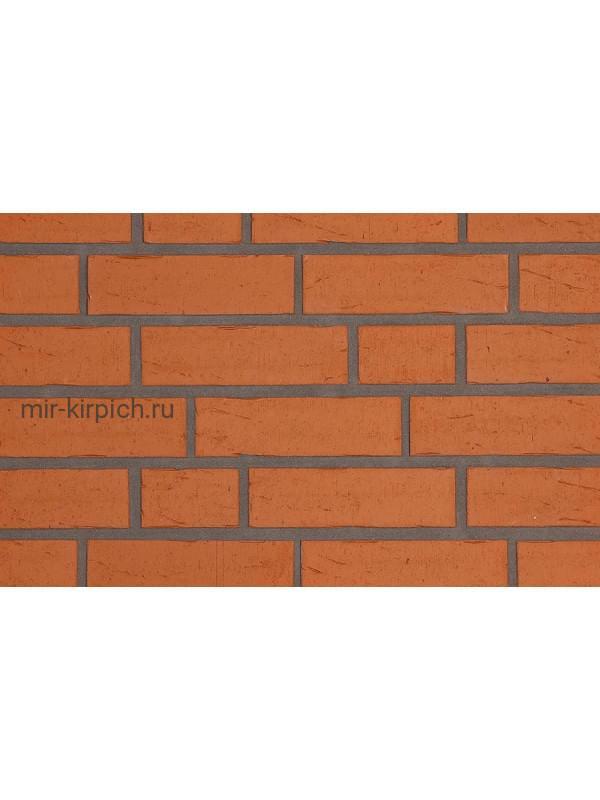 Клинкерная облицовочная плитка ручной формовки Feldhaus Klinker R731 vascu terracotta oxana, 240*71*14 мм