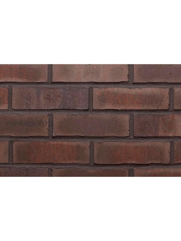 Клинкерная облицовочная плитка ручной формовки Feldhaus Klinker R748 vascu geo merleso, 240*71*14 мм