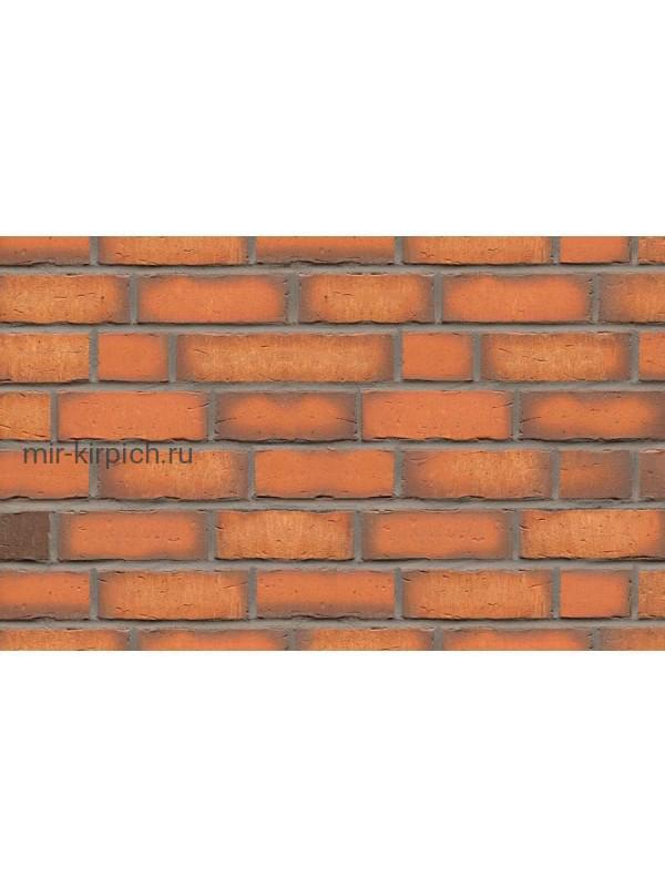 Клинкерная облицовочная плитка ручной формовки Feldhaus Klinker R758 vascu terracotta, 240*71*14 мм