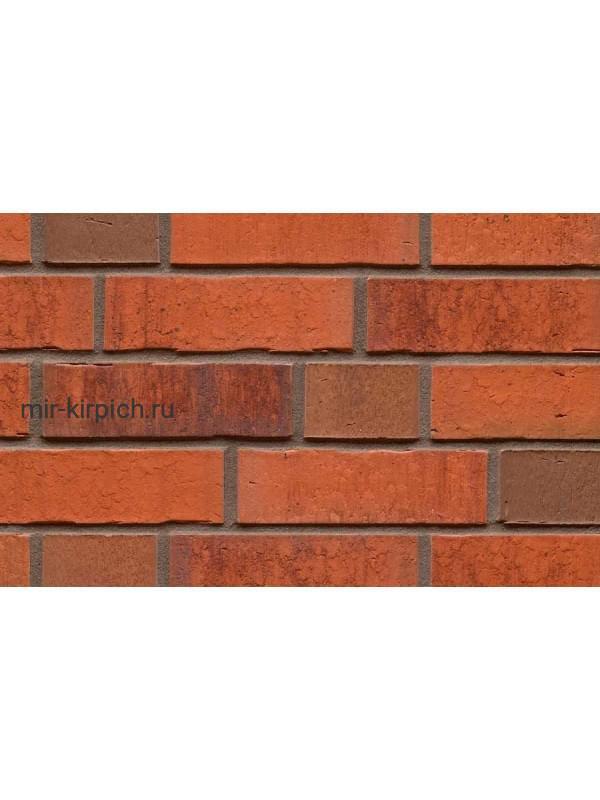 Клинкерная облицовочная плитка ручной формовки Feldhaus Klinker R767 vascu terracotta locata, 240*71*14 мм