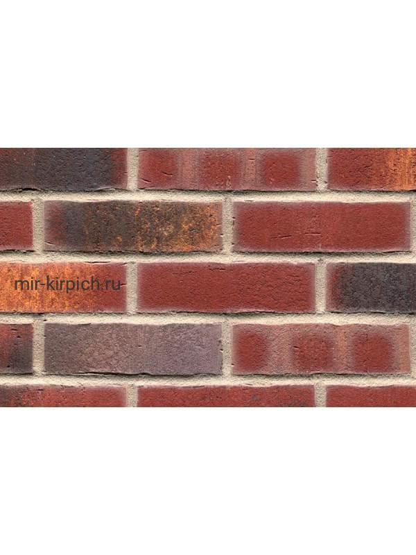 Клинкерная облицовочная плитка ручной формовки Feldhaus Klinker R769 vascu cerasi legoro, 240*71*14 мм