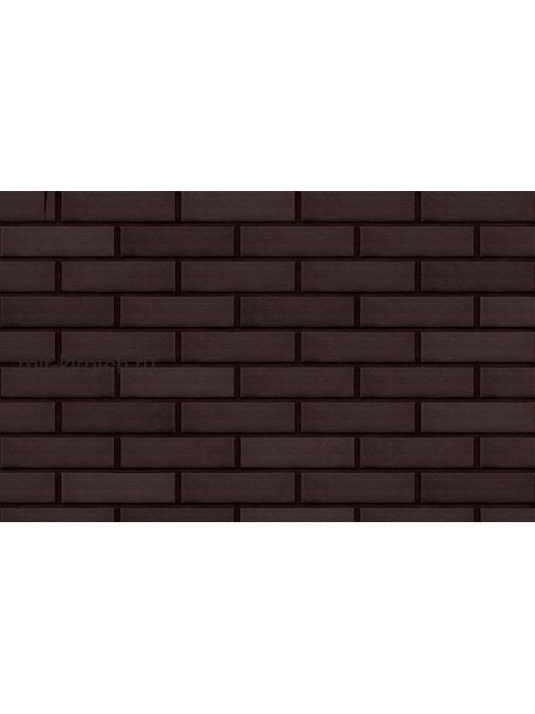 Клинкерная облицовочная плитка King Klinker Dream House 18 Volcanic black RF10, 250*65*10 мм