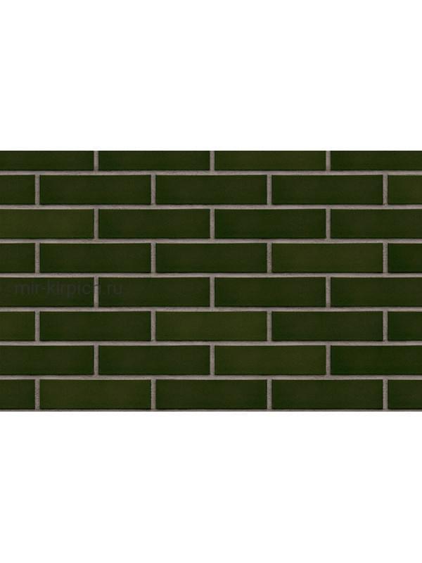 Клинкерная облицовочная плитка King Klinker Free Art green hills (25), 240*71*10 мм
