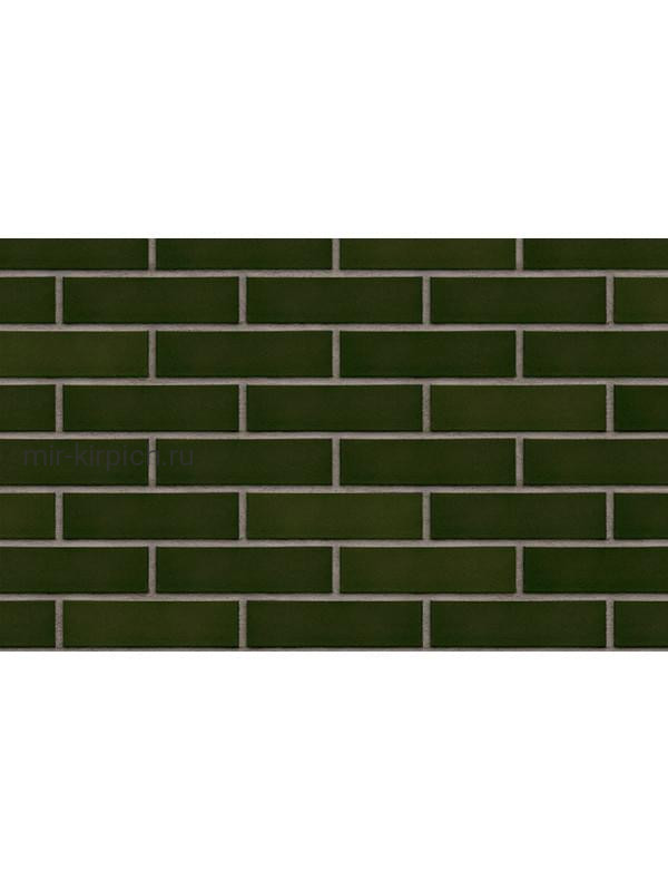 Клинкерная облицовочная плитка King Klinker Free Art green hills (25), 250*65*10 мм