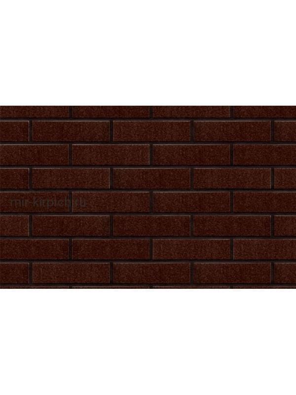 Клинкерная облицовочная плитка King Klinker Free Art коричневый глазурованный (02), 250*65*10 мм